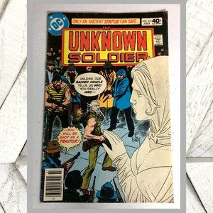 Vntg 1980 DC Comics Vol. 29 No 241 The Unknown Sol